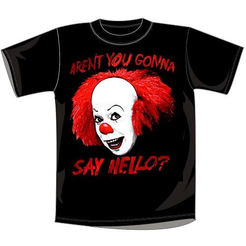 test ツイッターメディア - 映画Tシャツの紹介 【IT/イット】 この映画が最怖だと思う人は是非RT!! https://t.co/OnBghRJxN7 ↑この映画のあの名場面がご覧いただけます★ https://t.co/K5snFqbicT #即納Tシャツ3000円均一
