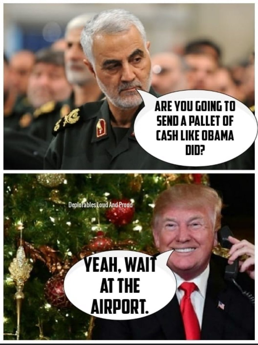 Image result for trump iran wait at the airport meme