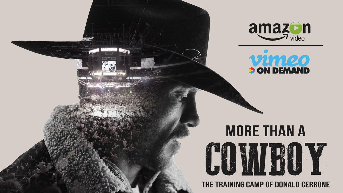 """I wanna give a quick shoutout to @Cowboycerrone for the follow and also wanna shoutout his new Docu-Series """"More Than A Cowboy"""". its a great watch and if you're a fan of MMA and of Cowboy and wanna support a legend go give it a watch at https://t.co/jgaED1RN5M  #MMATwitter https://t.co/0pSHfR7XNT"""