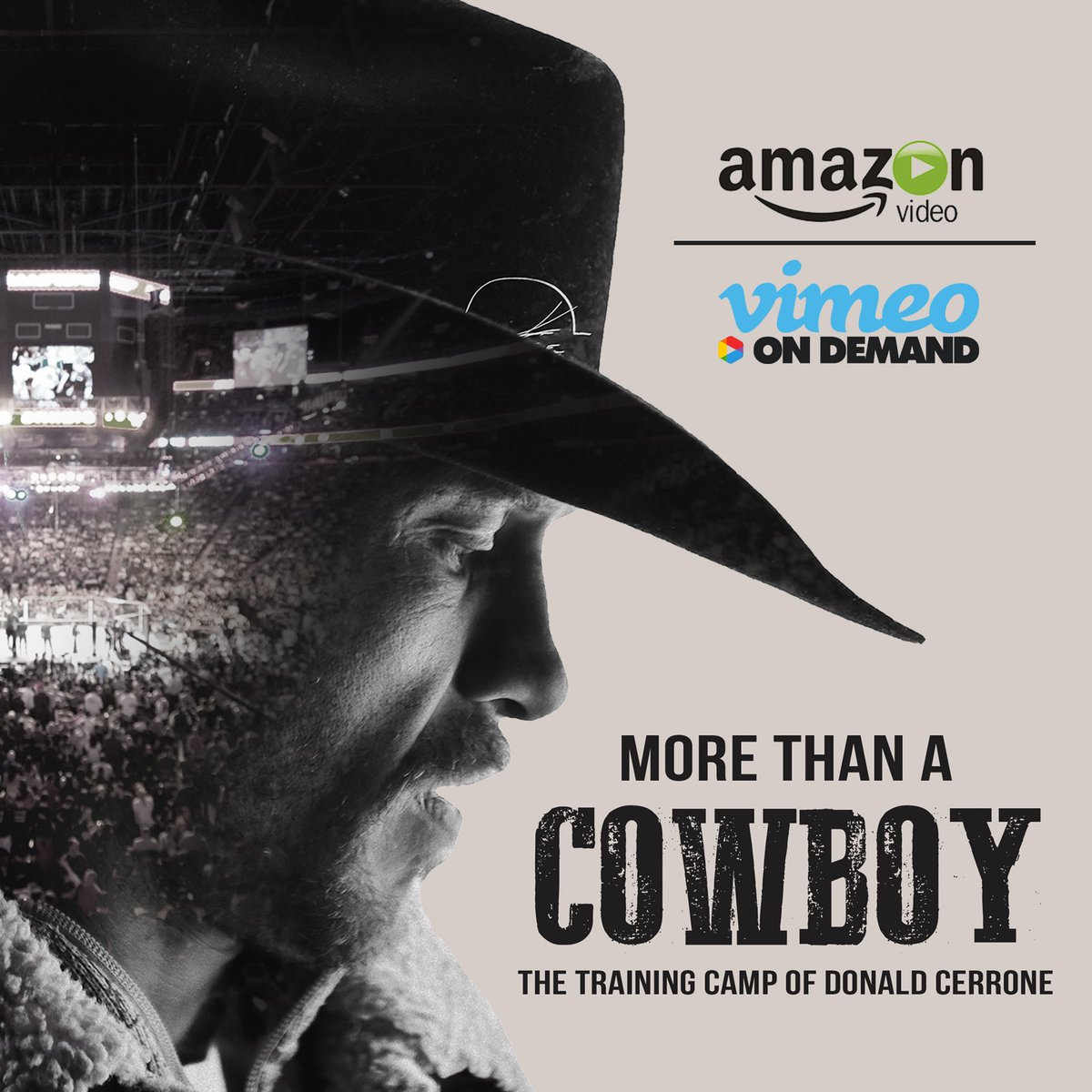 Check out @Cowboycerrone doc series showing the lead up to his fight with Conor. It's available on Amazon Video and Vimeo On Demand. Watched the first episode it was bad ass. https://t.co/iR6uppQWOy