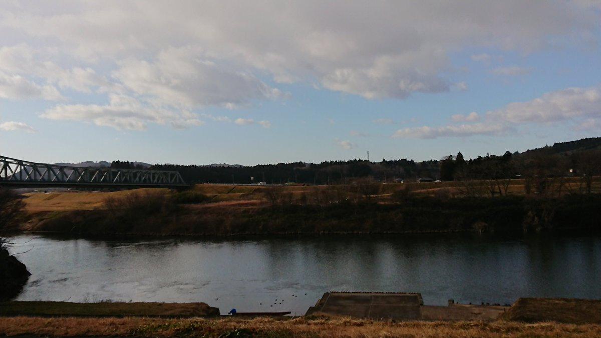 新年明けましておめでとうございます🎍  今年もよろしくお願いします\(^^)/ 川崎防災センターは今日から仕事始め❗今年も北上川や自然と向き合い、地域と交流関わりあいながら活動して行きます⤴️ #北上川 #一関市川崎町 #北上川サポート協会