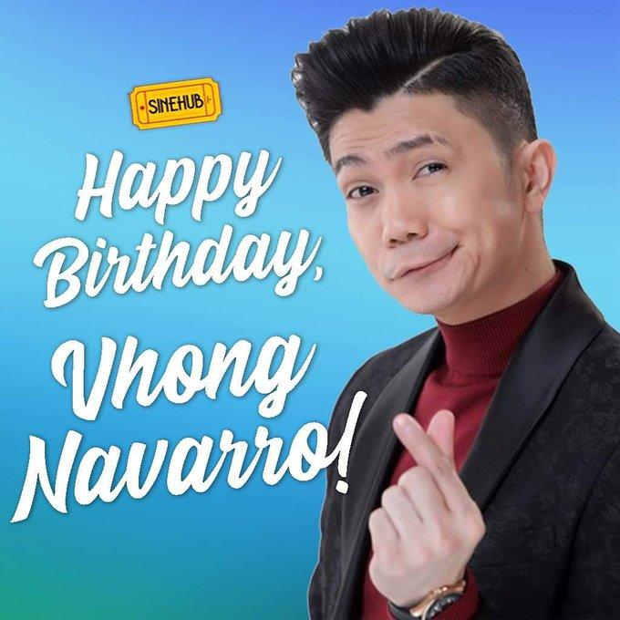 Wishing Vhong Navarro a very happy birthday!