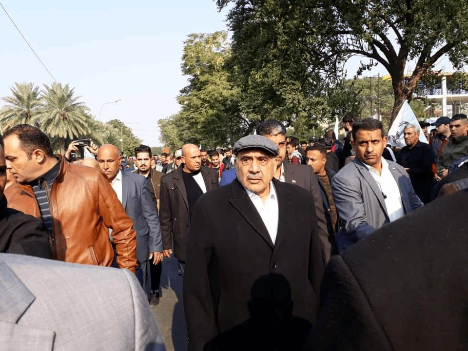 Церемония прощания с Сулеймани