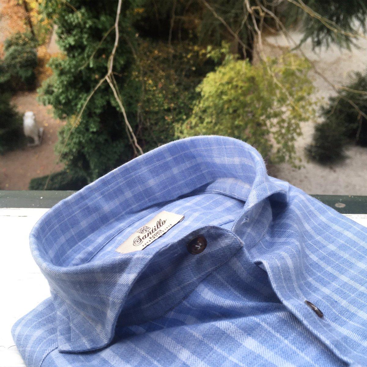 From latest collection available Now #PENTEDATTILO Sky blue check radici patrimonio 1970 half-placket shirt   #check #madras #cashmere #comfortneverwithoutelegance #radiciproject #inspiration #fw20 #gentlemantips #timeless #elegance  #archive  #handmadeinitalypic.twitter.com/AeEPwG7Kbe