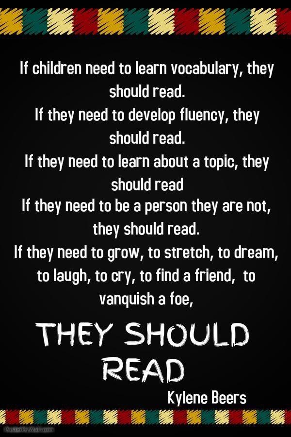 They should read! @KyleneBeers  #MVSRoom21