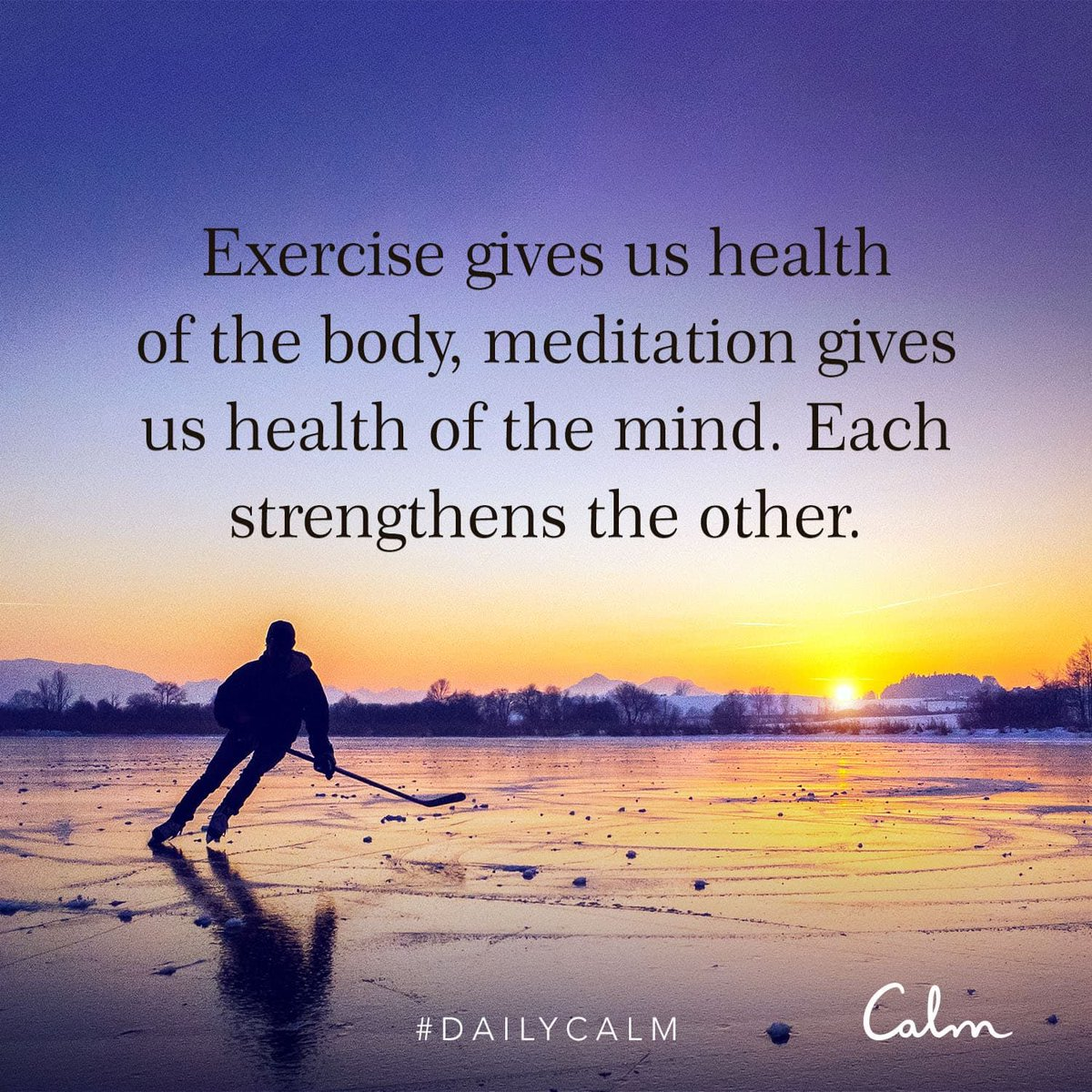 What inspires you to get moving? #DailyCalm