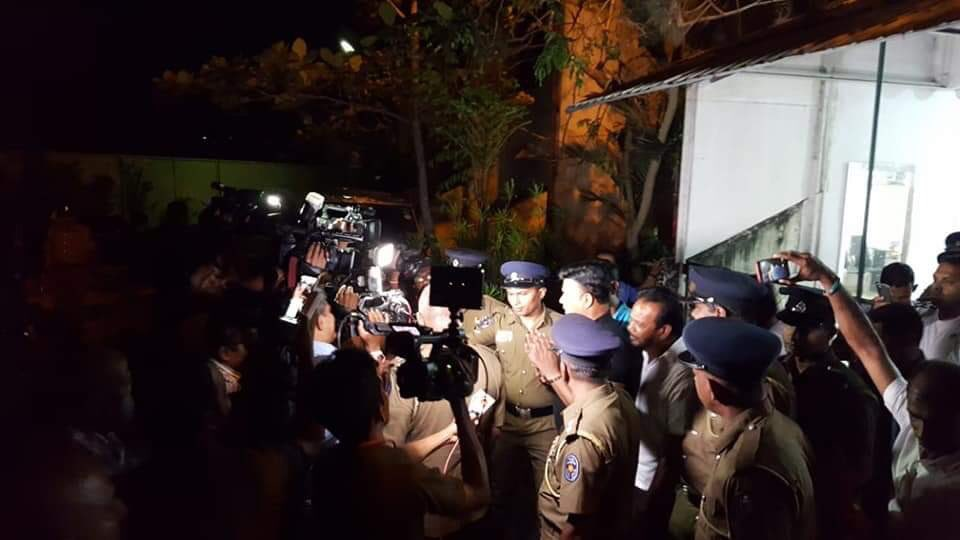 Ranjan Ramanayake arrested