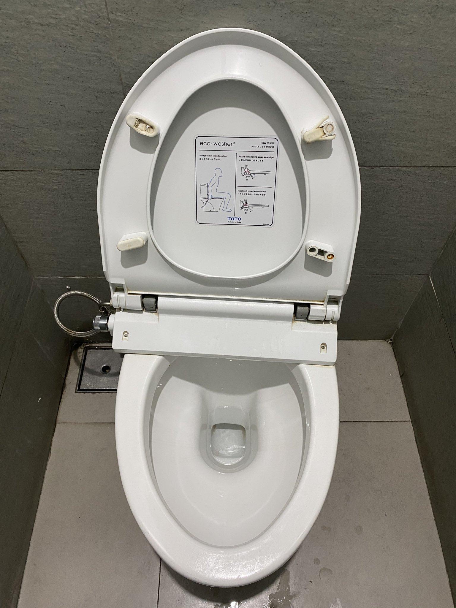 a WC ben mint a férgek