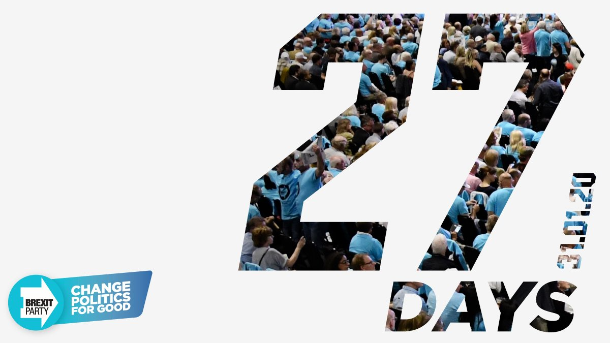 Countdown to Brexit: 27 days to go ➡️
