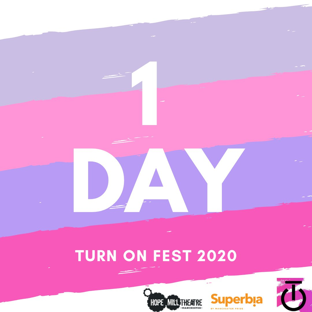 TOMORROW, we open up the doors to TURN ON FEST 2020.