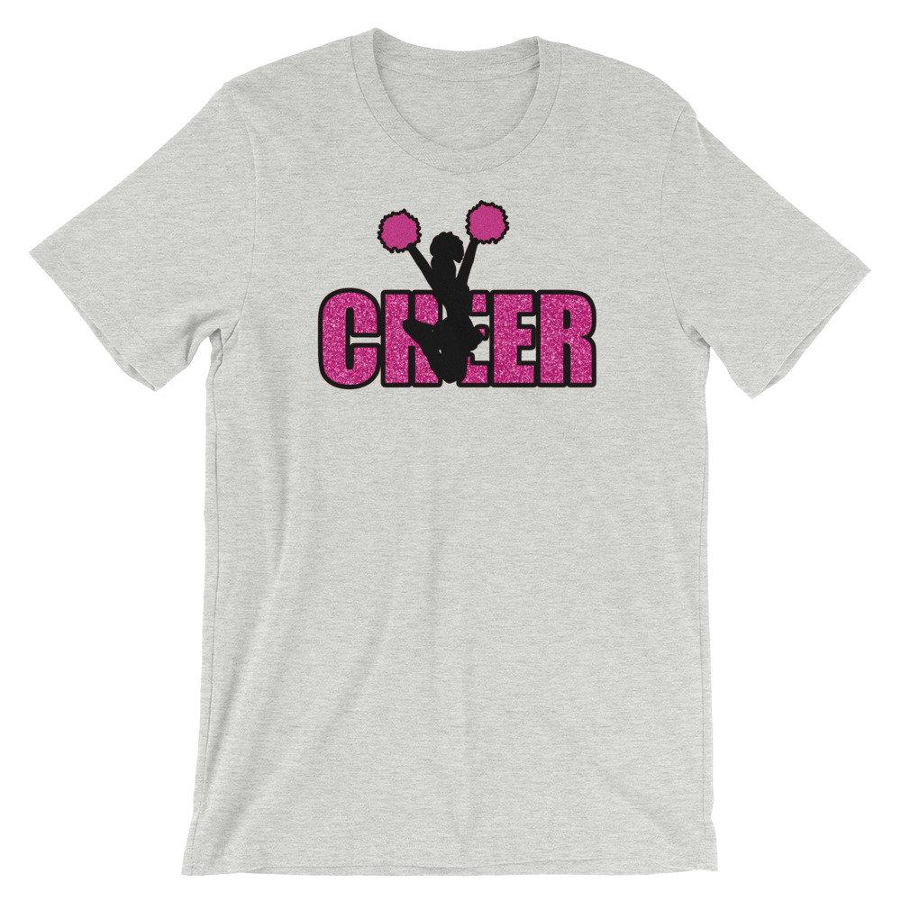 Cheer Short-Sleeve Unisex T-Shirt, Cheerleader Shirt, Cheer Mom Gift MANY COLORS https://etsy.me/2QoKIqc #etsy #cheerleadershirt #cheermomgift #cheer #coachgiftidea #gamedayapparelco #cheerleading #cheerleader #cheers #cheerstunts #cheerleaders #cheerfails #cheerup #1pic.twitter.com/yB7jwcmOSE