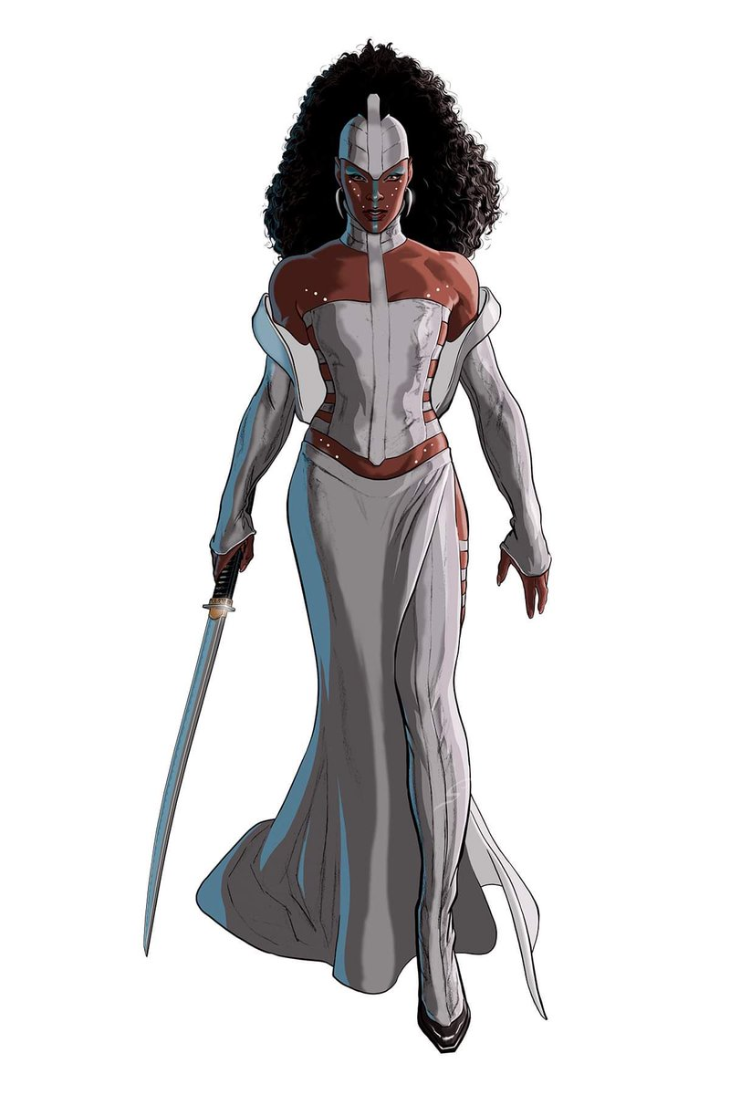 """""""D'ZINNE"""" before 'the big chop'...  From #VALMARcomic Gifted and Cursed Book 3  By #GreyWilliamson    http://WWW. VAL-MAR.INFO      #comics #sequentialart #scifi #horror<br>http://pic.twitter.com/8yHZE22Qgn"""