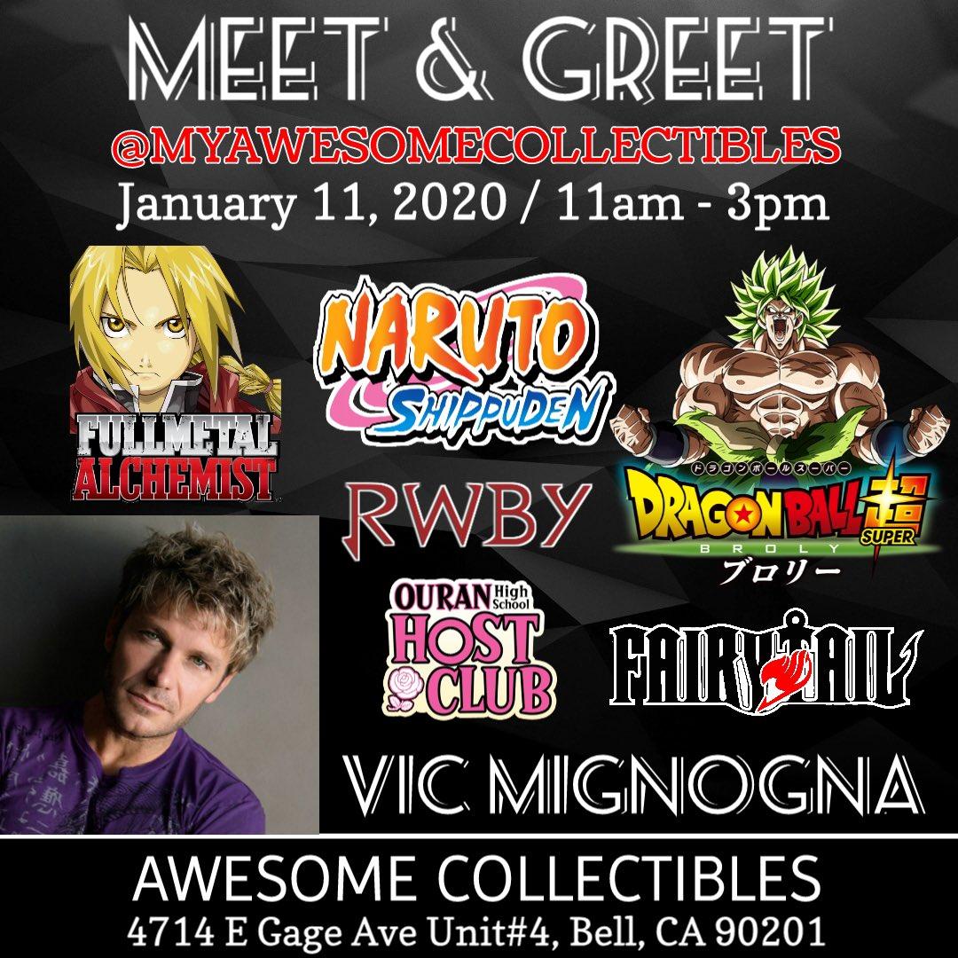 Mignogna voices vic FUNimation Cuts