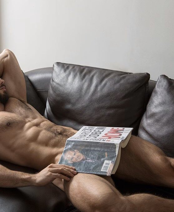 See and save as naked guys reading porn pict