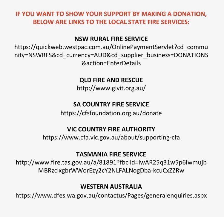 #AustraliaOnFire
