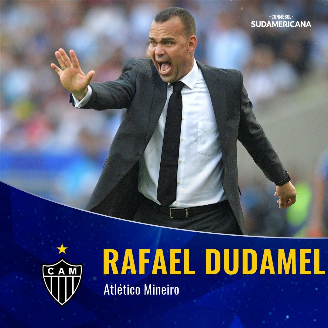 🙌🇧🇷 ¡Bienvenido a la #Sudamericana #Dudamel! ⠀ 🔥 🇻🇪 El venezolano fue confirmado como entrenador de @Atletico. Jugará contra @clubaunion el 6 de febrero.