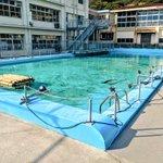 プールにはサメ、手洗い場には金魚?!廃校になった小学校が水族館に!