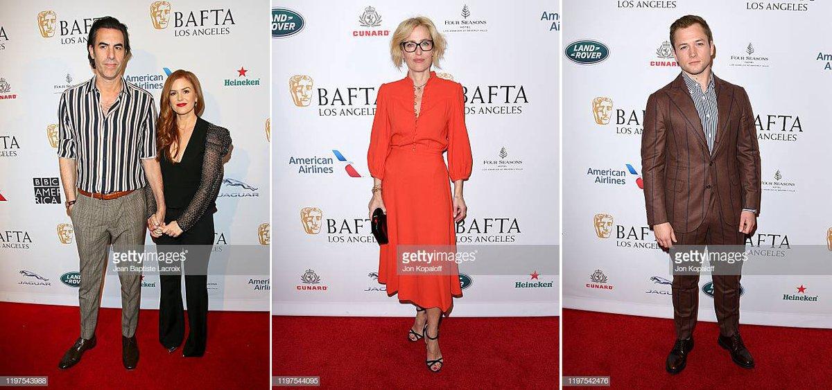 I SPY Sacha Baron Cohen and Isla Fisher & Gillian Anderson & Taron Egerton at The BAFTA Los Angeles Tea Party at Four Seasons Hotel  #BAFTATea  https://bit.ly/2Qpiyv2 #BAFTA #2020BAFTA #BAFTALA #SachaBaronCohen #IslaFisher #GillianAnderson #TaronEgerton @SachaBaronCohen #SPYpic.twitter.com/dGZdcahDHn