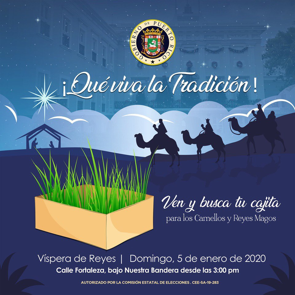 ¡Que no muera la hermosa tradición de los Tres Reyes Magos! Busca tu cajita y espéralos con alegría e ilusión. #GranFiestaDeReyes @wandavazquezg
