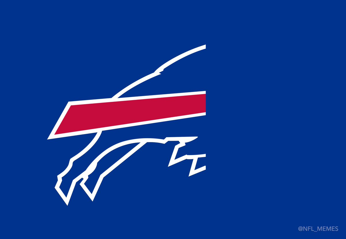 Nfl Memes On Twitter New Logo Of The Buffalo Bills Second Half Not Included