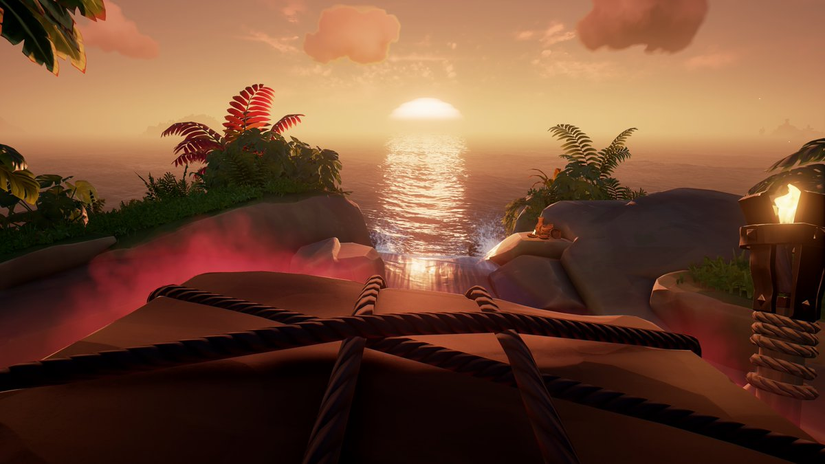 The colors in this game are one of it's best features, and they keep me coming back for more!  #SeaOfThieves #SoTShot #BeMorePirate #GettingStacked #XboxShare