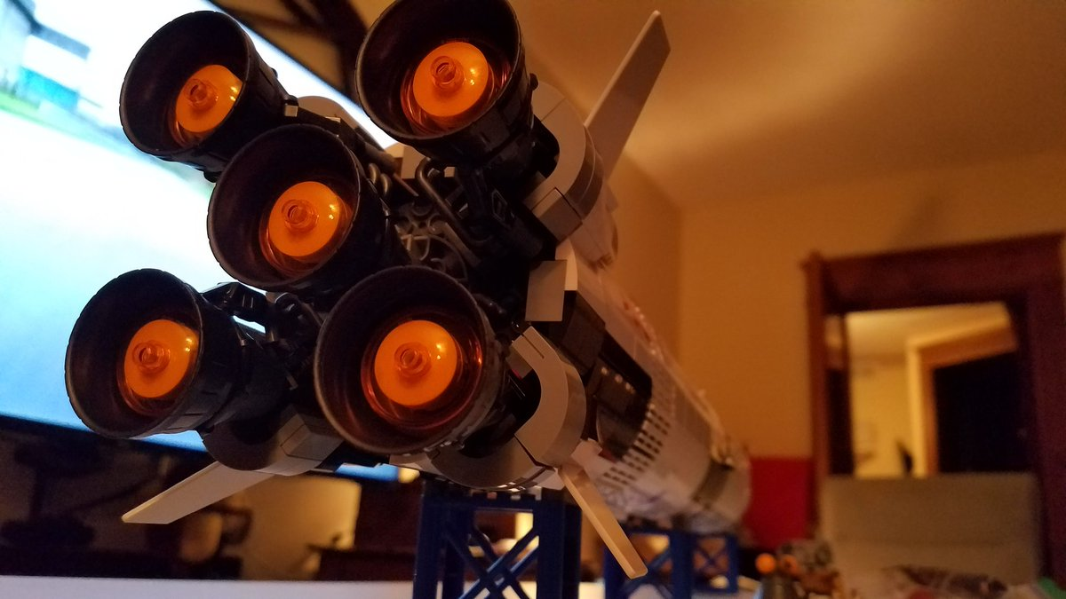 I think Lego did a pretty good job with the Saturn V