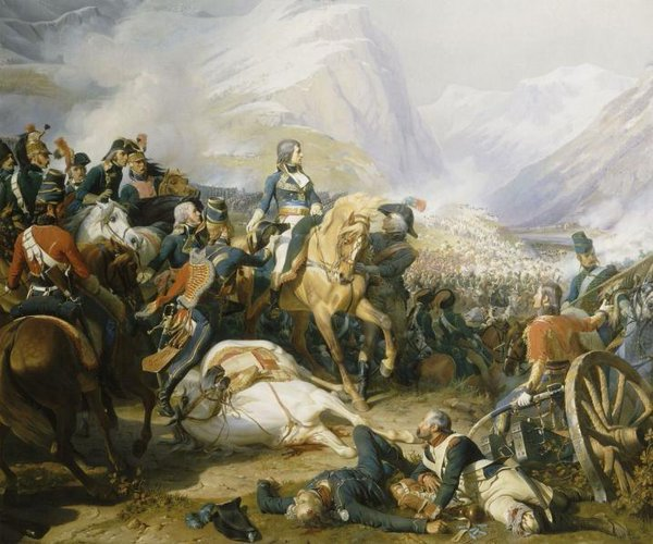 On this day in 1797, a 27-year-old Napoleon Bonaparte thrashes the Austrians at the Battle of Rivoli. A street in Paris will later be renamed to commemorate the victory.