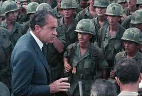 On this day in 1973, President Nixon announces the immediate and final suspension of all U.S. military operations in Vietnam.