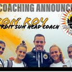 Image for the Tweet beginning: ROY NAMED NEW HEAD COACH  The