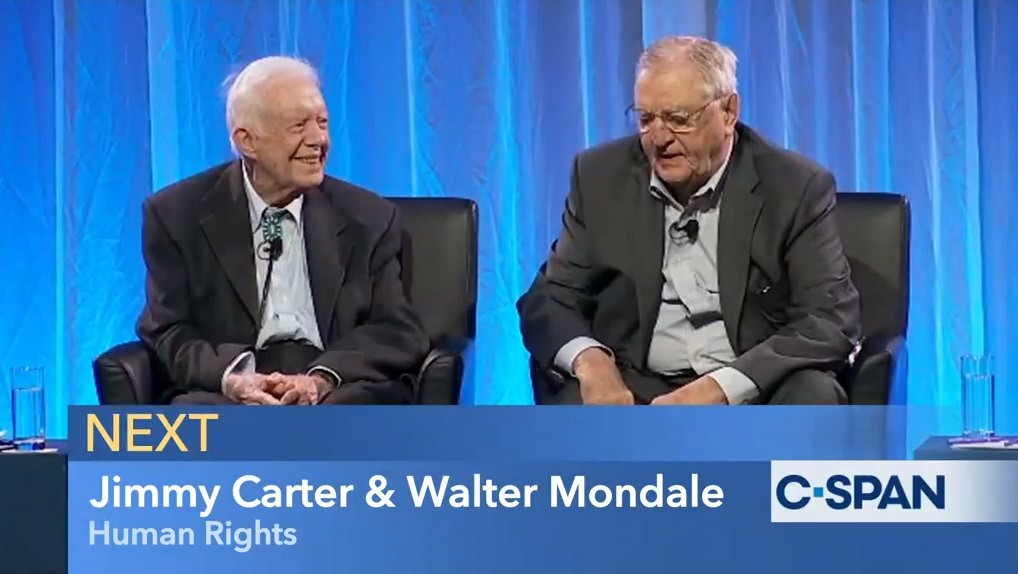 Jimmy Carter Presidential Library On Twitter Happy 92nd Birthday To Vice President Walter Mondale May You Enjoy The Day And Many More Carter Mondale 1976 Campaign Photo Cspan Photo 6 28 19 Https T Co Kfemvsa9oe Happybirthdaywaltermondale