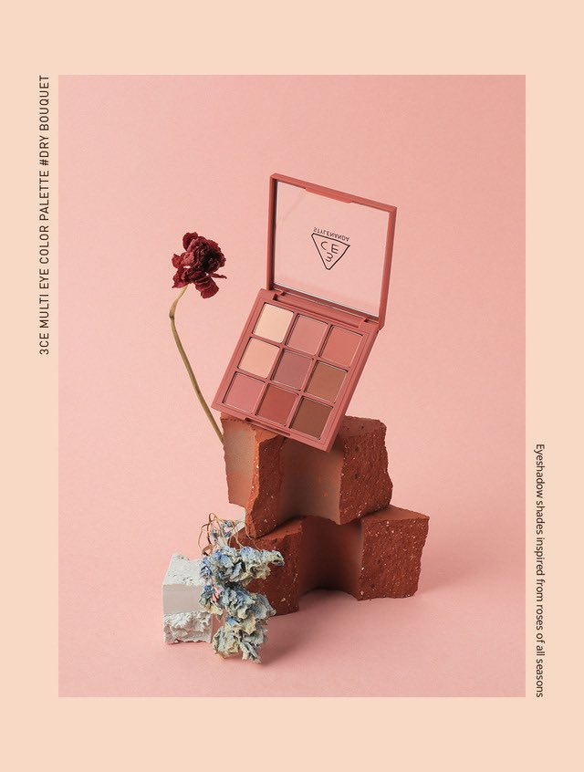 3ce Eye Shadow Palette #DRYBOUQUET  The matte eyeshadow palette with shades reminiscent of dried flowers that go well in this autumn and winter season#3ce #3ceuk #eyeshadow #drybouquet #mattepalette #eyeshadowpalette #kbeauty #koreancosmetics #wintermakeup pic.twitter.com/17n5hs4UBi