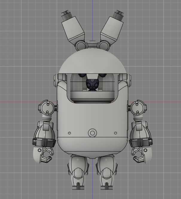 兔兔機甲人 #fusion360 #mecha #mech  #robot #transformers  #animals #rabbit #機甲 #機器人 #兔 #autodesk