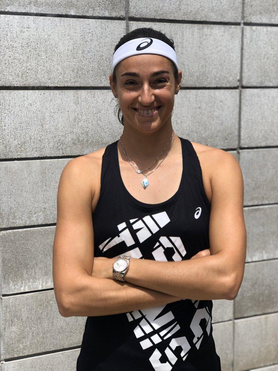 Caroline Garcia @CaroGarcia