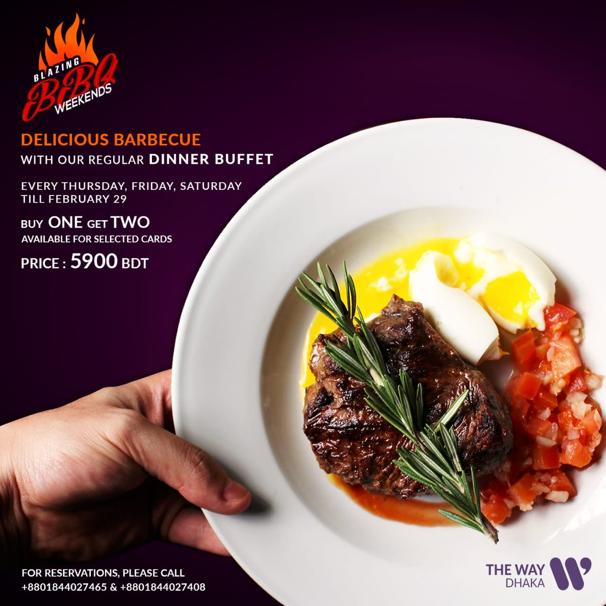 The Way Dhaka On Twitter Delve Into The Variety Of Succulent And Meaty Delicacies At The Bbq Weekends At The Top Of Way The Signature Restaurant Of The Way Dhaka Https T Co Iq0idiv4hb