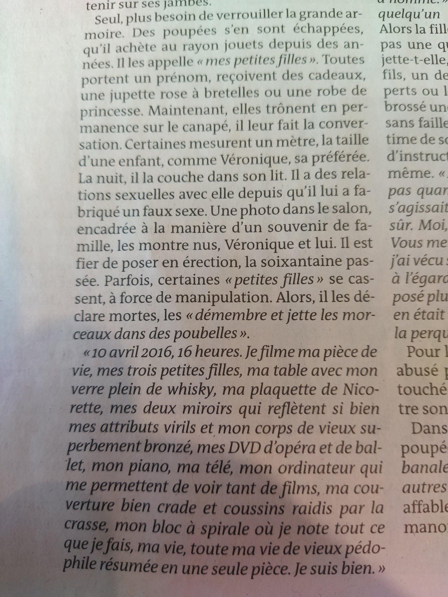 Guy Moux On Twitter Joel Le Scouarnec Le Pedophile De Jonzac Est Un Immense Malade Mental Papier Glacant Https T Co V6rch6cjel