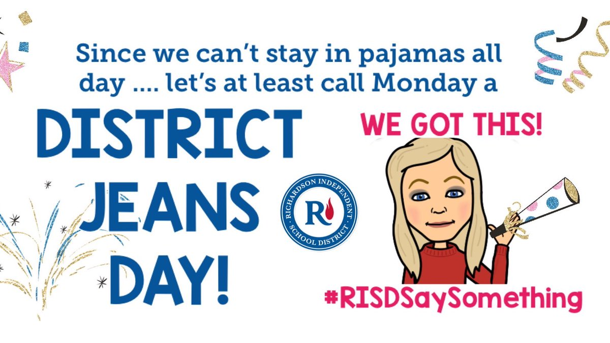 Who's with me? #RISDSaySomething