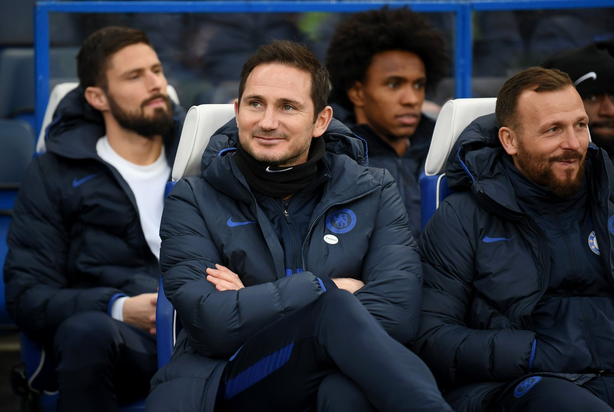 Frank Lampard critical of Chelsea players after Bournemouth defeat