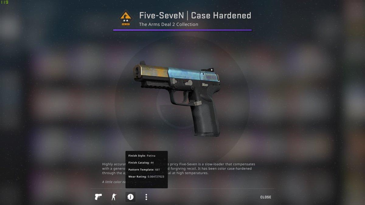 Five Seven Case Hardened Patterns