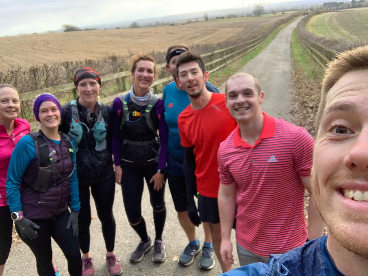 17 miles with this crew this morning. Calories all replaced with Christmas cake and mince pies.