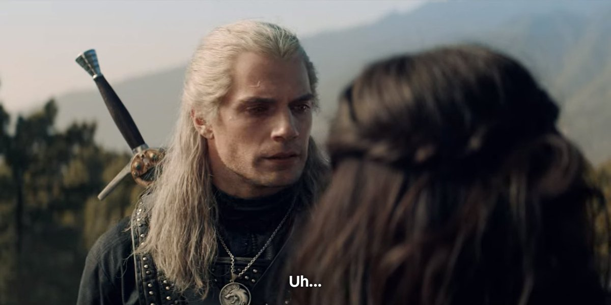 the witcher out of context (@tossaroach) on Twitter photo 05/01/2020 12:46:59
