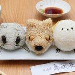 エゾモモンガ、キタキツネ、シマエナガ!北海道のもふもふ動物をモチーフにしたおにぎりが可愛すぎる!