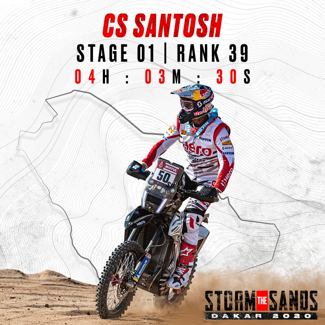 Dakar 2020 Stage 1 rankings. StormTheSands RaceTheLimits Dakar2020 https t.co rsqZ4Elqik