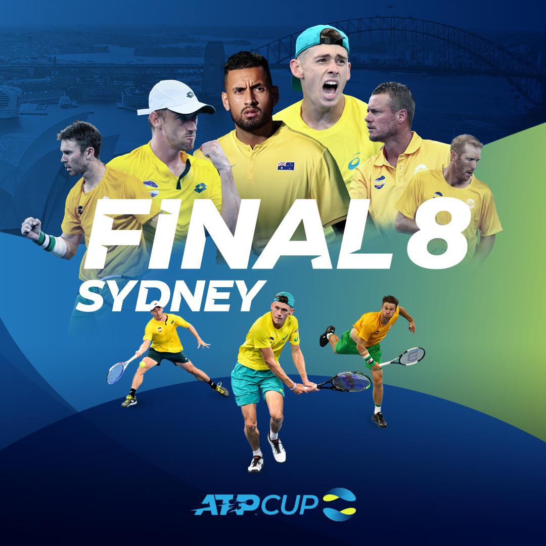 Сборная Австралии обеспечила себе место в четвертьфинале ATP Cup