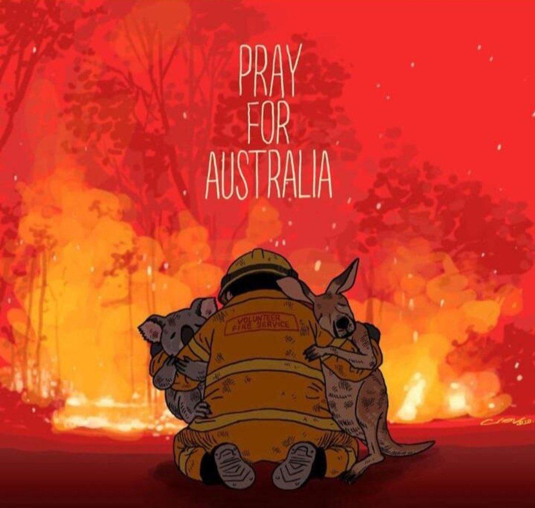 Pray for Australia.