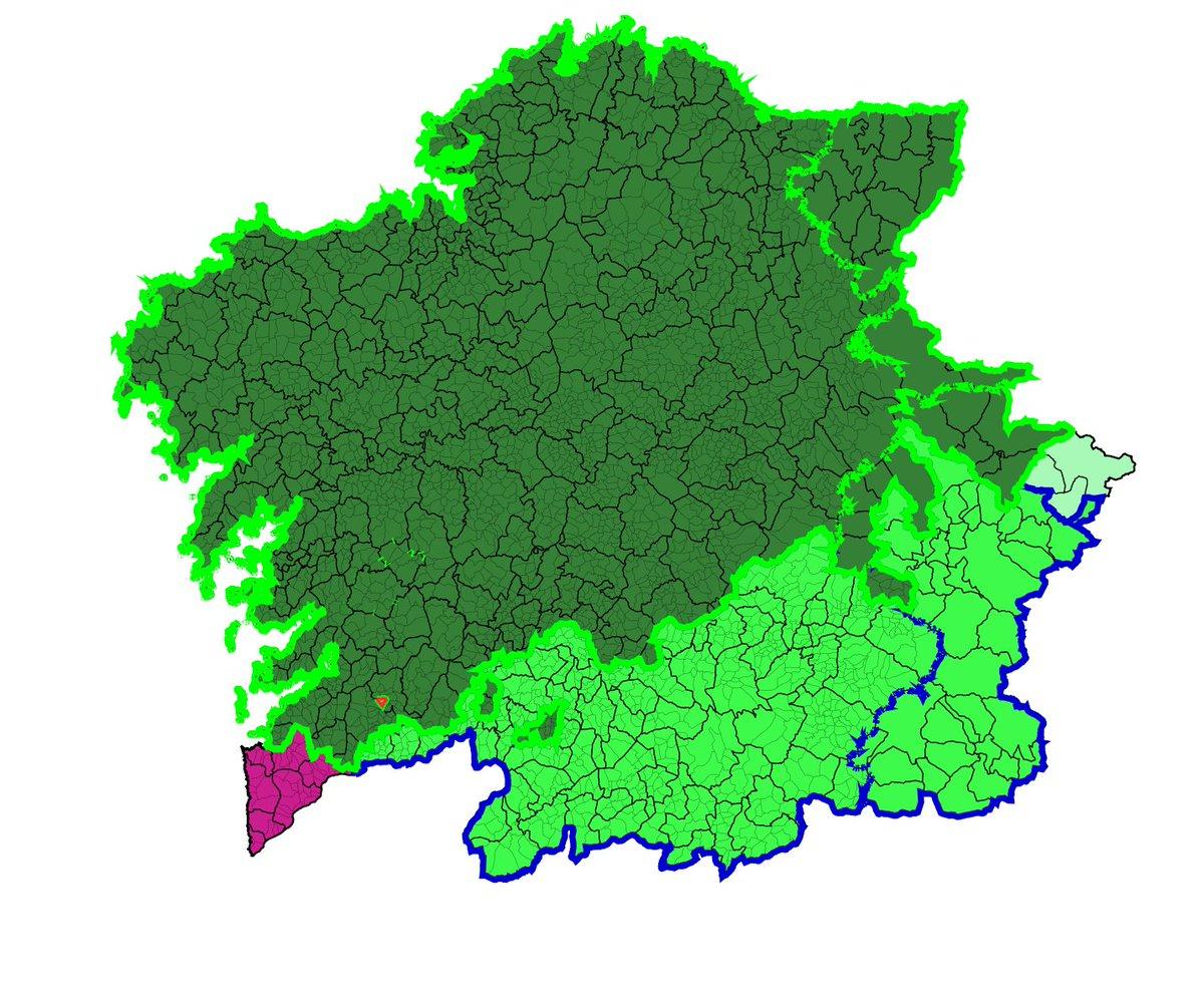 03/25/2028, as tropas de #Eume lideradas por @davidrimon demostran a súa superioridade na batalla de Mondariz-Balneario (Nosa Señora de Lurdes), arrebatando #Mondarizbalneario das garras de Verín.