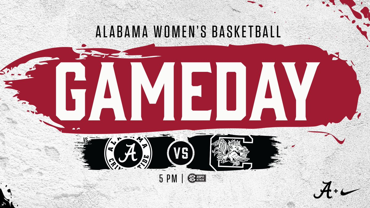Gameday! @AlabamaWBB takes on #4 South Carolina today in Coleman Coliseum.