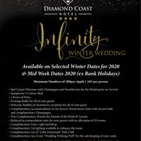 Congratulations to all of the happy couples who got engaged this festive season. We have limited availability left for December 2020 dates for our fantastic Infinity offering.  Call Mary now to book your consultation and discuss your plans. https://t.co/8GVXHujANn