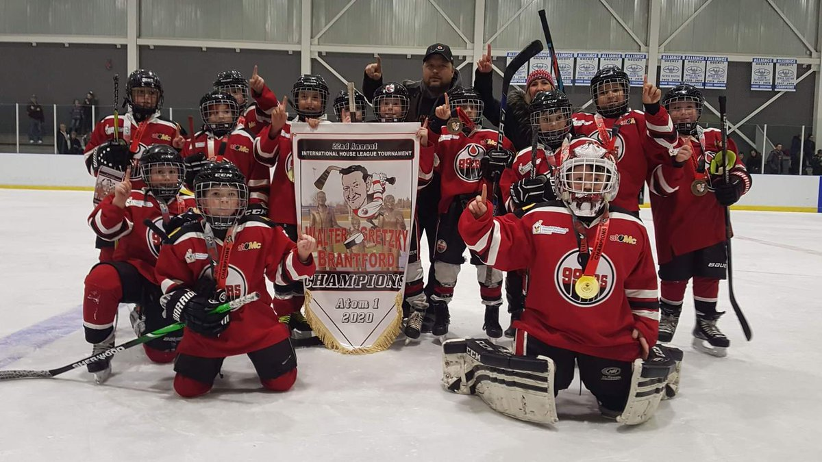 Brantford 99ers On Twitter Congratulations To Our Mpcomputers Hl 99ers Atom 1 Champions At The Walter Gretzky House League Tournament