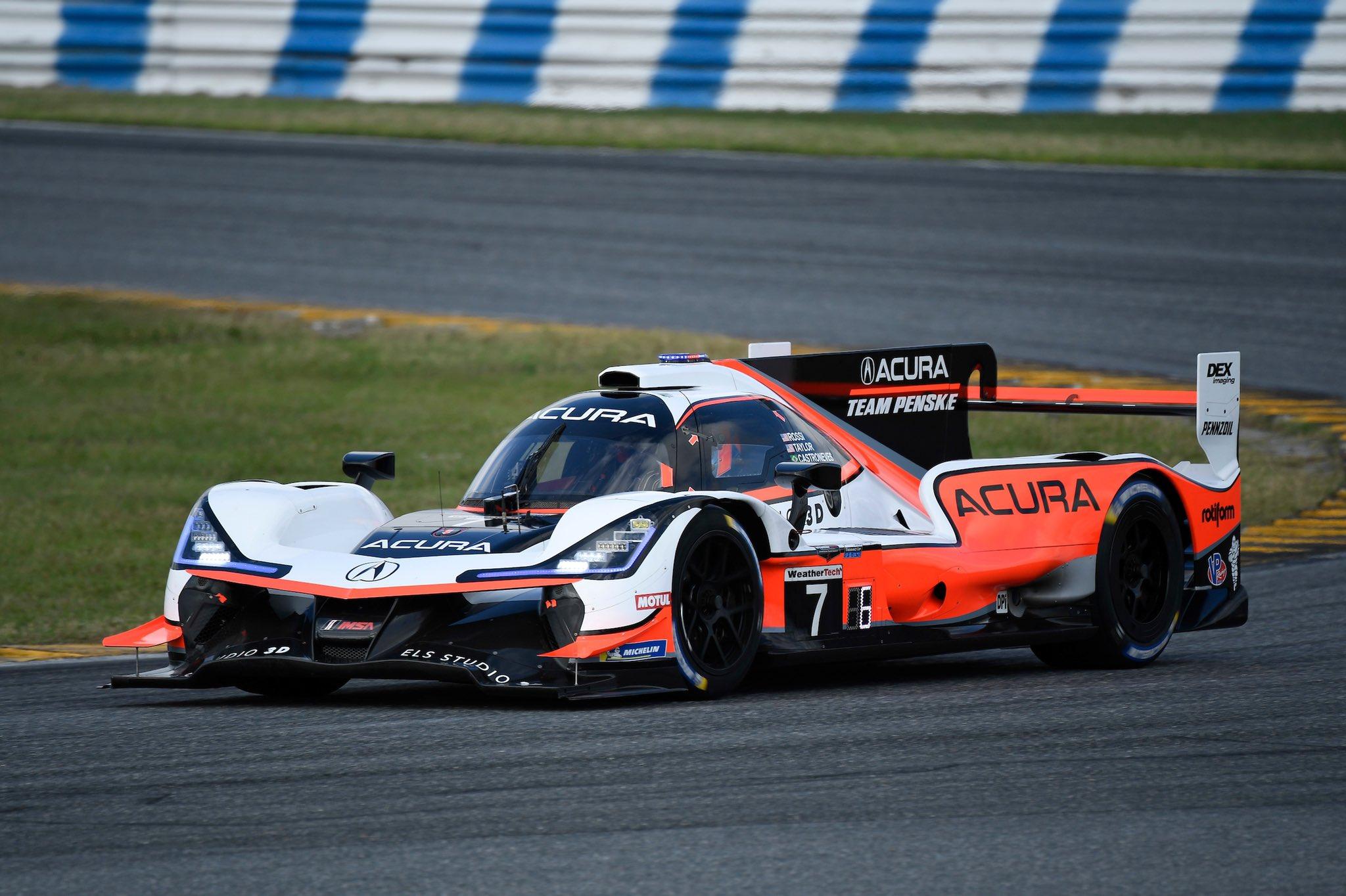 Acura DPi at the Roar Before the 24 at Daytona