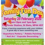 Image for the Tweet beginning: Family Fun Day / Diwrnod